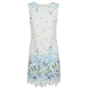 ISO Almost Famous Butterfly Shift Dress